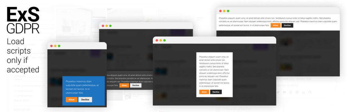 ExS GDPR WordPress plugin is now available